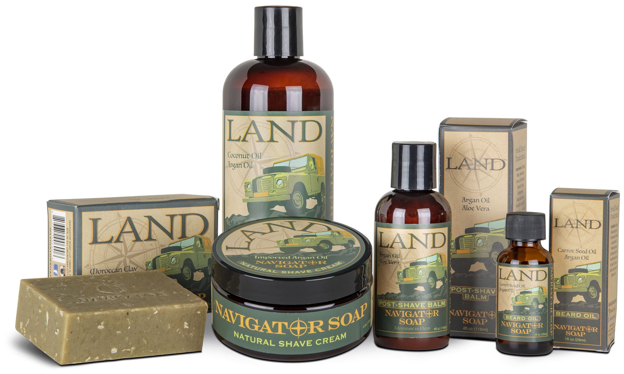 Allied Soap and Razor Transport Land Series