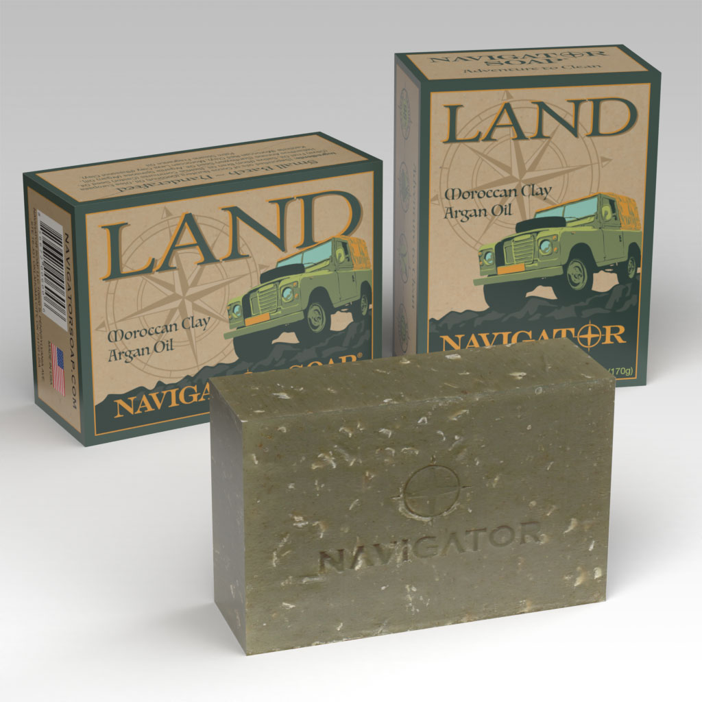 Allied Soap and Razor land series soap