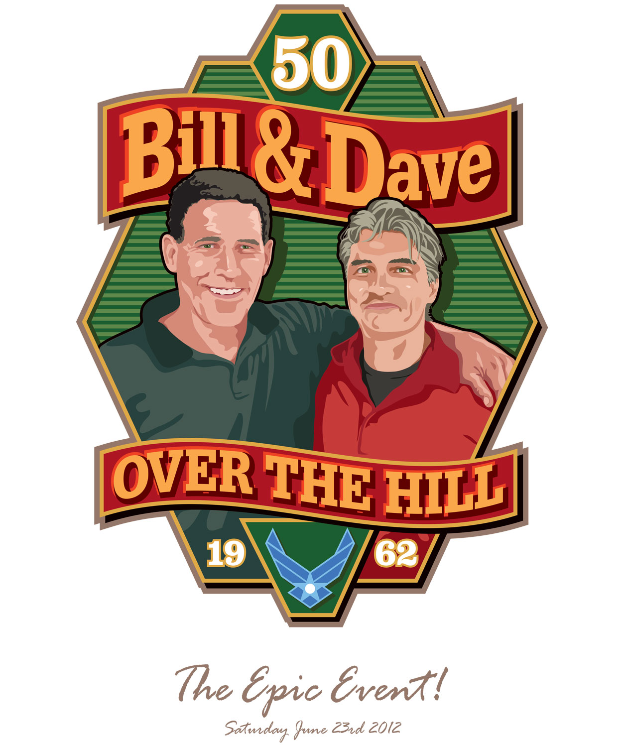 Bill and Dave illustration